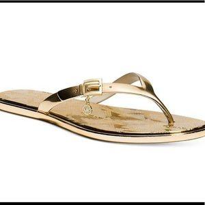 Brand new Michael Kors Emory Thong  flip-flops